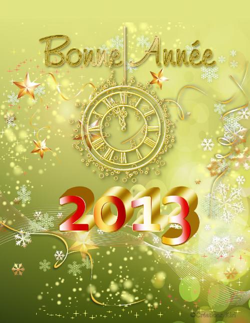 Cartes jour de l'An