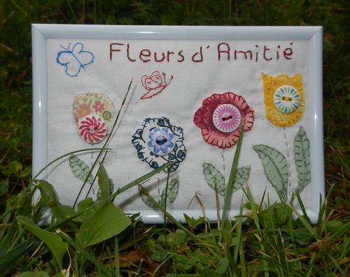 Fleurs d'amitié