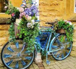 21 idées de Vélos fleuri | decoration exterieur, decoration, extérieur