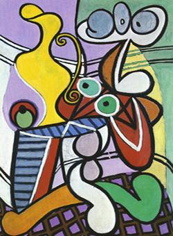 """Résultat de recherche d'images pour """"image libre d'accès Nature morte au guéridon de Picasso"""""""