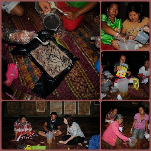 Formation savon avec les mères Talaandig
