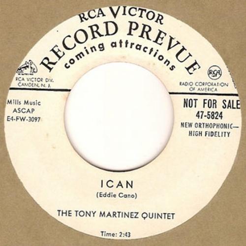 The Tony Martinez Quintet : Ican