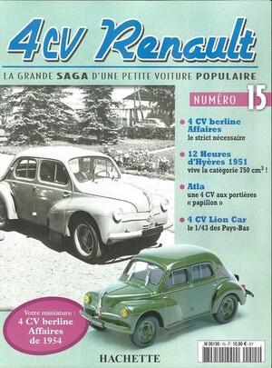 4cv Affaires 1954