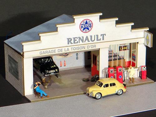Garage HO = Ce sera région & compagnie!