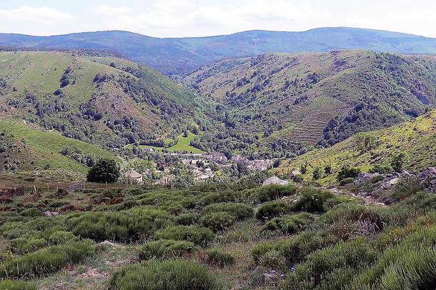 Chemin de Stevenson - Mont Lozère - Pont de Montvert (13 km)