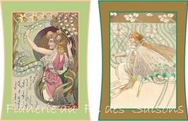 L'Art nouveau - cartonnettes