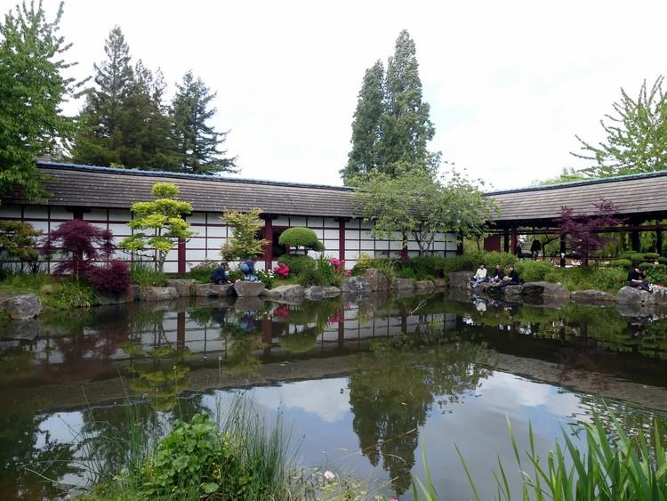 Jardin japonais (île de Versailles)