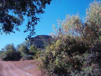 Vieille maison dans le village d'Abellada