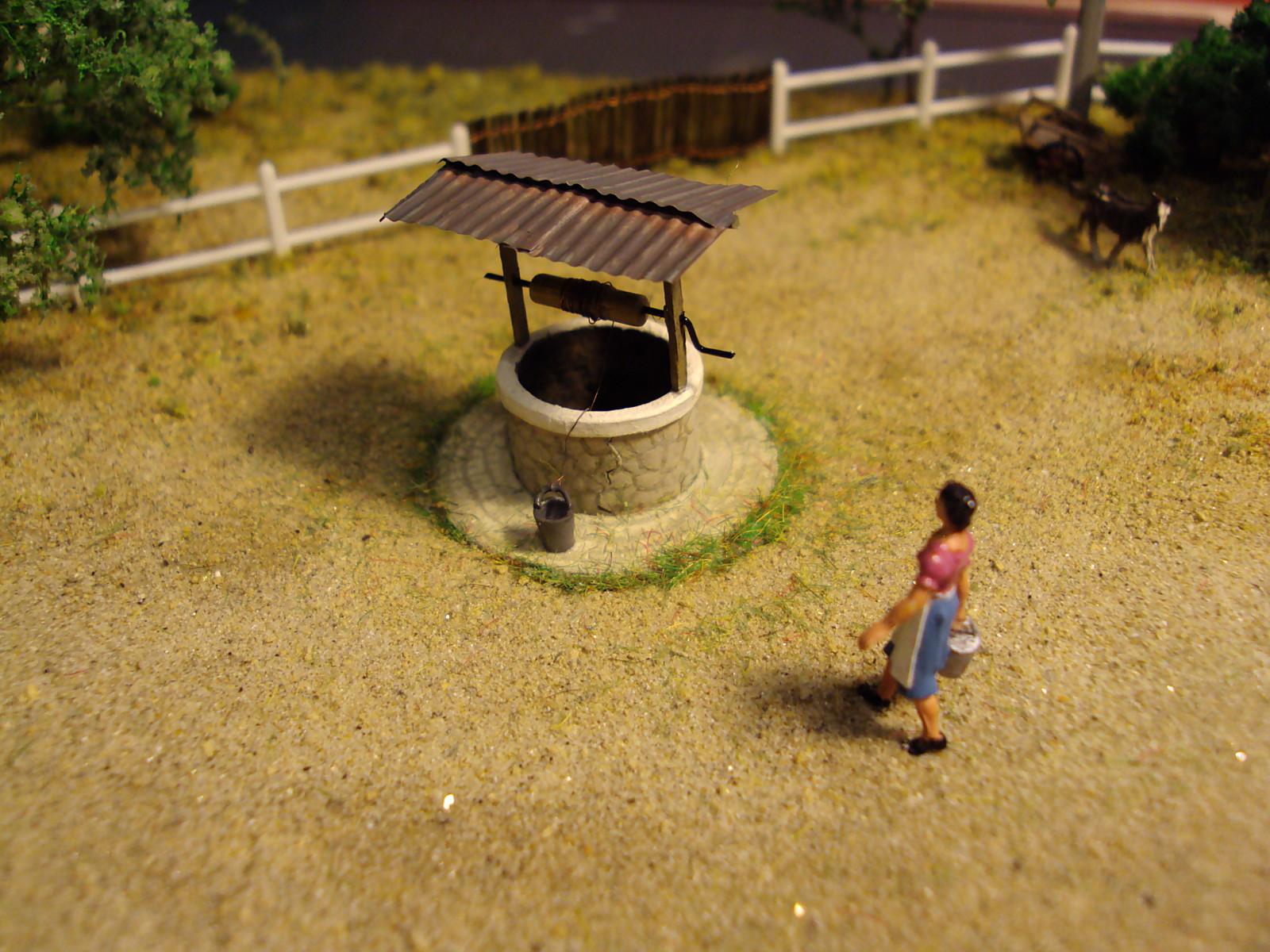 Un puit passion vosges ferroviaire for Creuser un puit dans son jardin