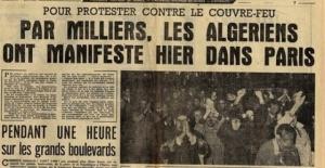 17 octobre 1961 : Arrêtons les mensonges !!!!!