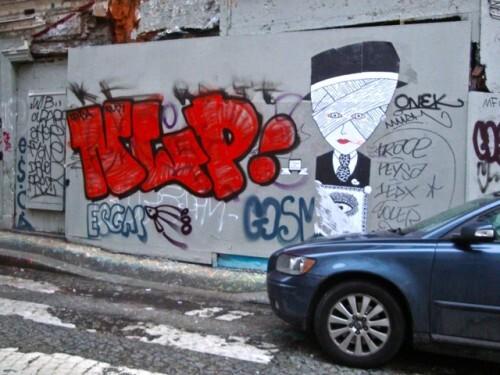 escape street-art Montmartre message Le Chevalier