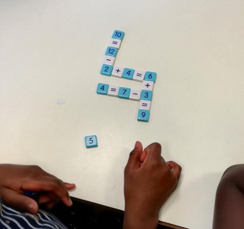 Möbi, un jeu de calcul mental