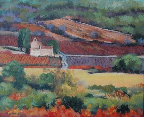 La chapelle dans les vignes