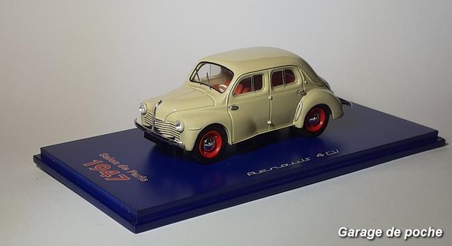 Renault 4cv Salon de Paris 1947