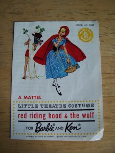 Barbie vintage : Little Red Riding Hood and The Wolf