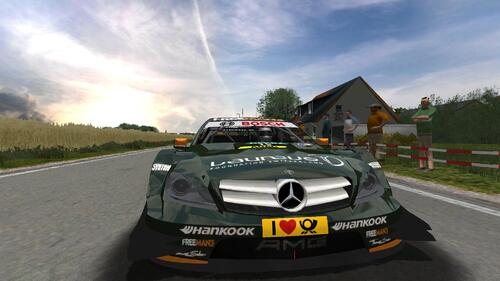 Mercedes Team HWA DTM AMG Mercedes C-Coupé