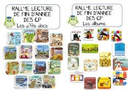 RALLYE LECTURE DE FIN D'ANNEE DES CP