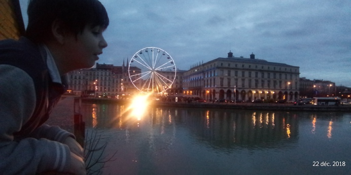 Marché de Noël à Bayonne