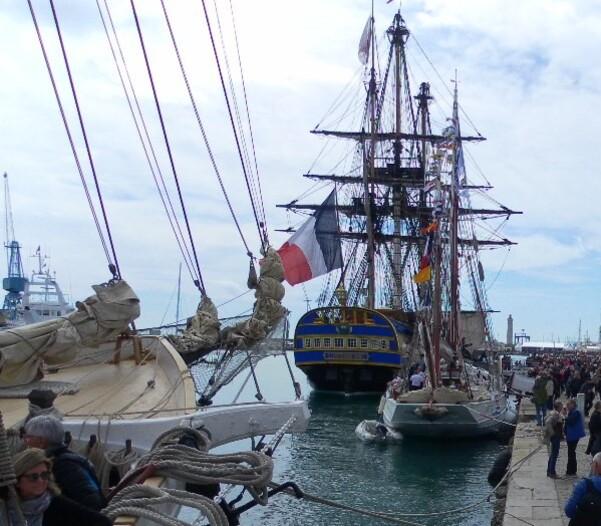 Escale à Sète 34 : les voiliers