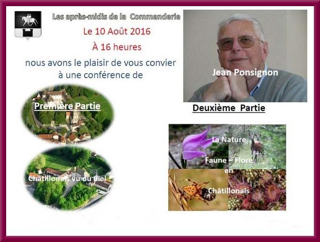 """Lors d'un """"Après-midi à la Commanderie"""", Jean Ponsignon a présenté deux audiovisuels"""