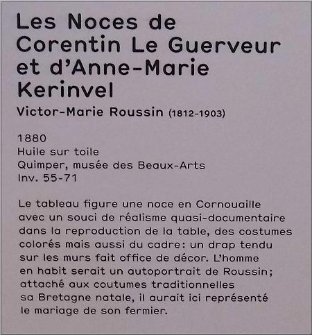 """Noces Bretonnes"" - (V. M. Roussin)"
