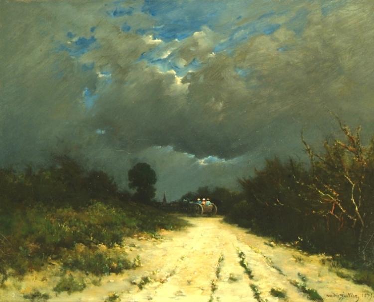 Amédée Jullien : Crépuscule