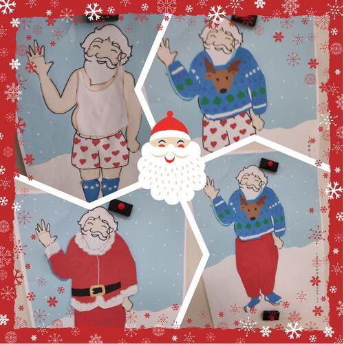 Père Noël se prépare en MS.