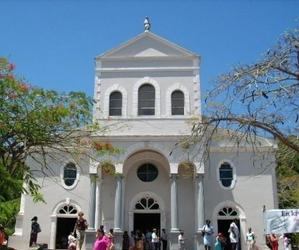 Eglise aux Seychelles