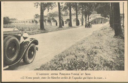 L' AQUEDUC DE LA VANNE .