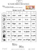CP* Léo et Léa jeux de révisions des mots