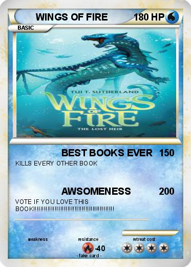 Les Royaumes de Feu / Wings of Fire