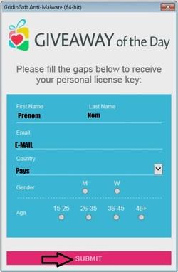 GridinSoft Anti-Malware 3.0 - Licence 1 an gratuit