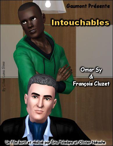 ♥ Affiche du Film : INTOUCHABLES ♥
