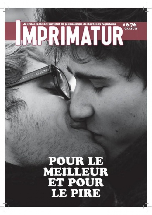 Imprimatur : le 1er journal de l'IJBA