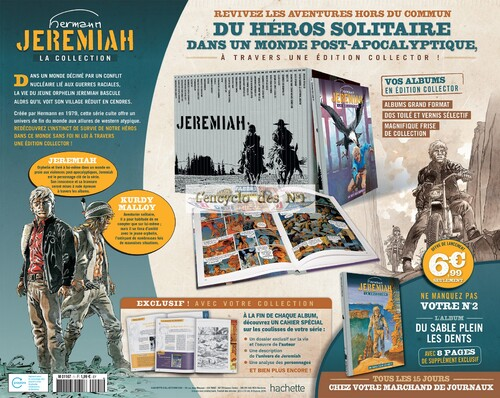 N° 1 Collection BD Jeremiah - Test