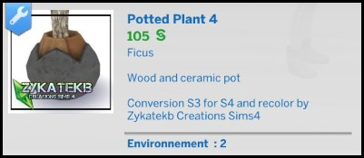 Potted Plants Set