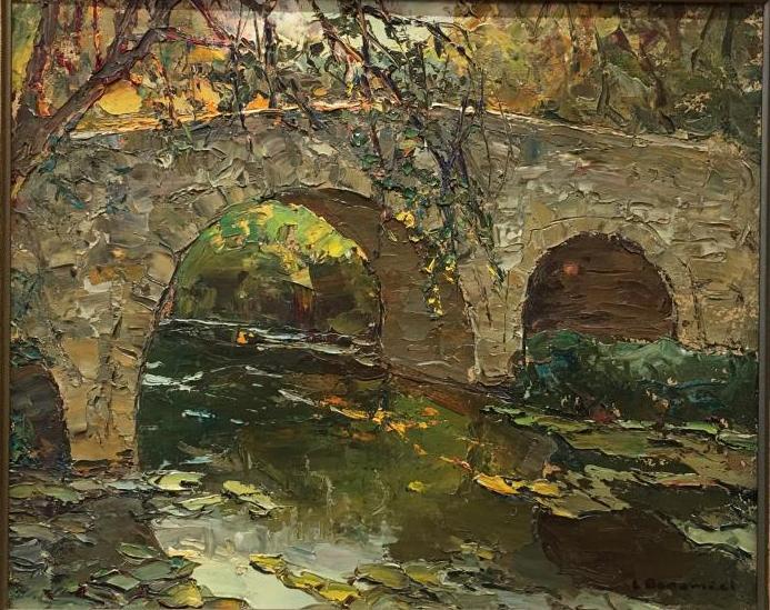 Un pont sur une rivière