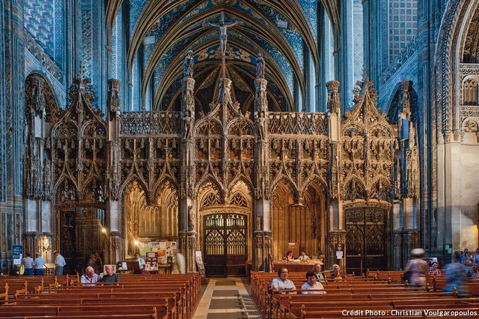 Cathédrale Sainte-Cécile d'Albi, chef d'oeuvre gothique