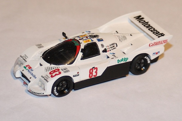Le Mans 1986 Abandons