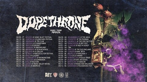 DOPETHRONE + ALL IN THE SMALL - Reims - 25/08/2019