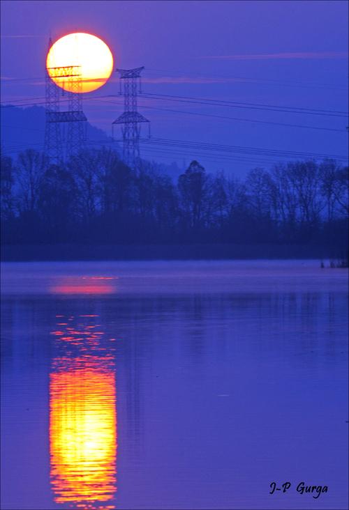 Lever du jour sur le lac de Marcenay de très belles photographies de Jean-Pierre Gurga...