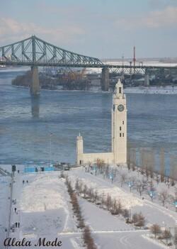 Voyage de Noces au Québec - Montréal Jour 1