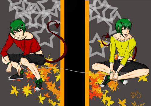 Halloween utau twins