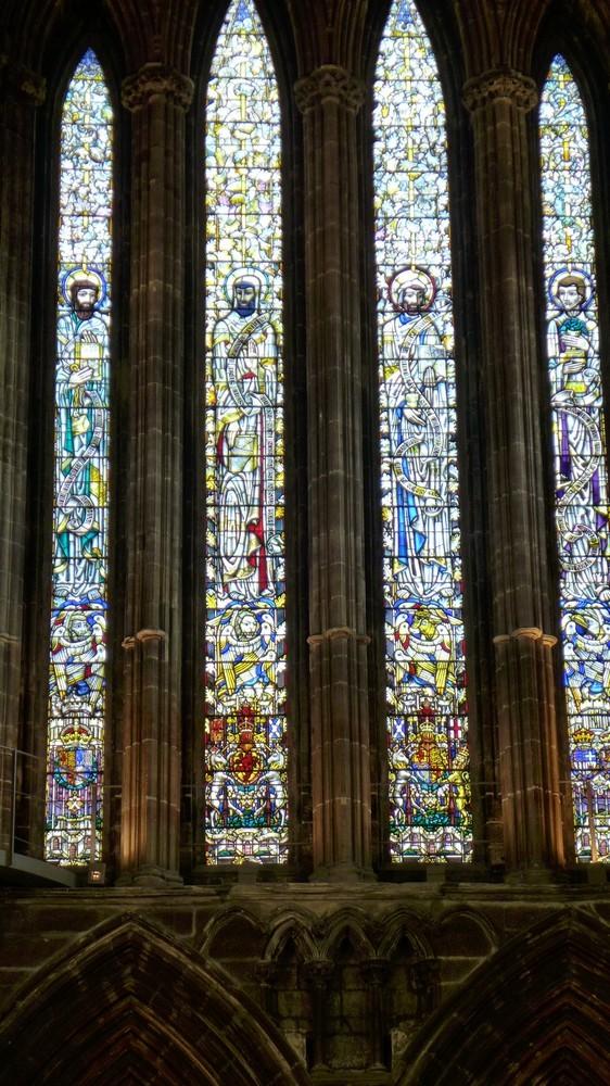 La cathédrale Saint-Mungo de Glasgow (2/2) : les vitraux...