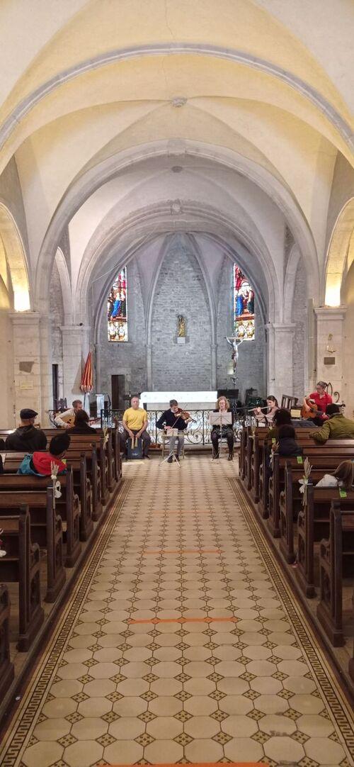 Concert à Sion merci à JC et Christine