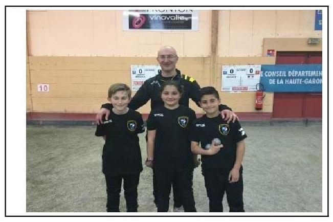 Championnat de France Triplette Minimes