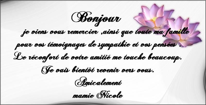 ♣♣ Bonjour , merci beaucoup .♣♣