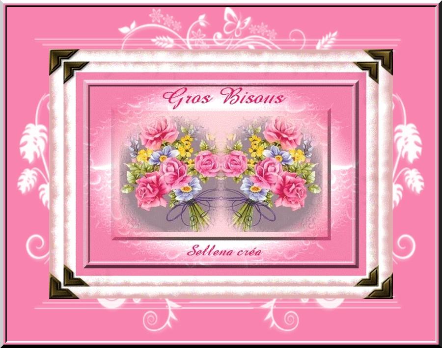 Je Tenvoie Deux Bouquets De Bisous Les Cartes Virtuelles