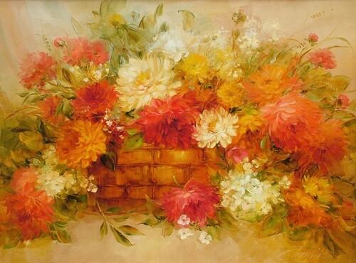 Peinture de :Anna Homchick