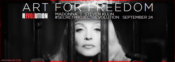 Madonna - ArtForFreedom - Secret Project Revolution